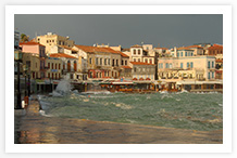 Old Harbour of Chania